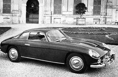 Lancia Flaminia Sport First Series (Zagato), 1959 - Covered Headlights Classic Italian, Vintage Italian, Italian Style, Sport 2, Car Posters, Automotive Design, Maserati, Fiat, Cars And Motorcycles