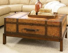 Exceptional Unique Coffee Table Trunk For A Stylish Yet Adorable Living Room With Any  Styles And Conditions