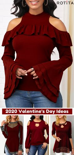 Valentines Day isnt all about the lovebirds -- treat yourself on this special day and buy yourself some Valentines inspired goodies! Who can pass up these Valentines Day Gifts For Yourself! Sexy Outfits, Cool Outfits, Valentine's Day Outfit, Dieselpunk, Beautiful Outfits, Plus Size Fashion, Fasion, Autumn Fashion, Womens Fashion