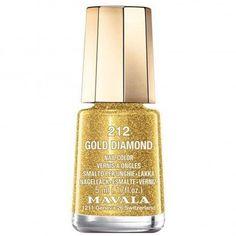 Mavala nail polish in Gold Diamond