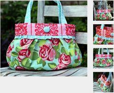 Short and Sassy Pleated Handbag Pattern