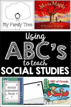 Using the alphabet to teach Social Studies...find out more dancingintofirst....