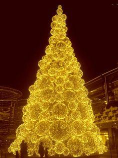 Gold christmas Tree   Flickr - Photo Sharing!
