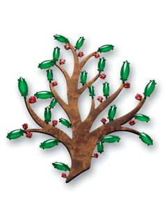 JADEITE AND SPINEL 'TREE OF LIFE' BROOCH, TAFFIN