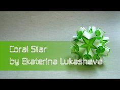 Estrella de Papel - Flor Kusudama | Día del Padre - DIY - YouTube