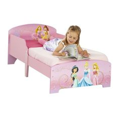 Disney Princess Toddler Bed Shelf Underbed Storage Official Disney Princess Merchandise Ideal transition from a cot, Toddler bed that includes protective side panels to stop falling out of bed Disney Princess Nursery, Disney Princess Toddler, Princess Room, Baby Bedroom, Girls Bedroom, Bedroom Ideas, Bed Shelves, Bedside Shelf, Baby Doll Accessories