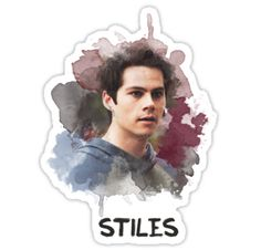 Stiles – Teen Wolf – Canvas • Also buy this artwork on stickers, apparel, phone cases, and more.