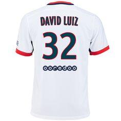 Maillot de foot PSG Exterieur 2015/2016 (32 David Luiz)
