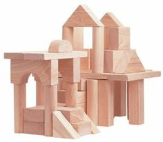 Plan Toy 50-Unit Blocks Set by Plan Toys. $72.95. Compatible Units Block System Which Is Designed To Evolve With New Challenges. Its Uniform Scale Provides Expansion Capabilities That Encourage Extended Play. This Toy Is Made From All Natural Organic Recycled Rubber Wood. A Great Way To Stir Children's Interest In Building Things. There Are 50 Natural Wood Blocks Of Different Sizes And Shapes. From the Manufacturer                Plan Toy 50 Unit Blocks Set is a great way to sti...