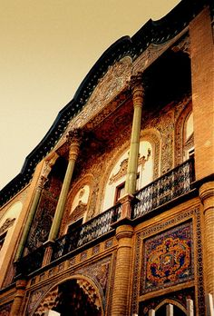 Tehran   Typical persian architecture, Tehran / Rep islamic …   Flickr