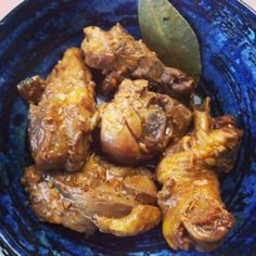 How to make Chicken Adobo in Coconut Milk and Why My Son Sold his Lunch