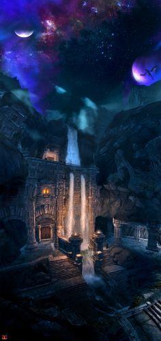 Skyrim : Markarth by UltimaDX.deviantart.com