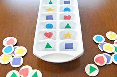 """Indoor toddler games are great to have on hand for rainy days, cold days, hot days, or just plain """"I need a break"""" days! With these 14 toddler games, you'll be ready to entertain your toddler no matter why you need to stay indoors!"""