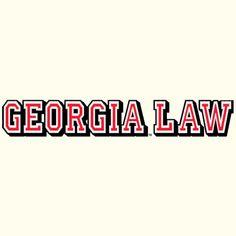 Uga School Of Law Car Decal Georgia Pride Pinterest Car Decal