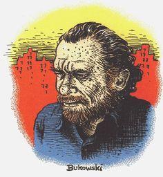 Robert Crumb - Charles Bukowski - Serigraph 1996