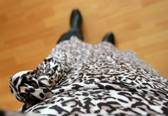 Tall girl's fashion // Dating in leopard