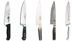 Best kitchen knives from cheap to expensive.