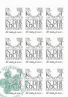 freebie friday - Tütenanhänger Tafelrunde Stampin Up! Diy For Teens, Crafts For Teens, Printable Labels, Free Printables, Silhouette Mint, Silhouette Cameo, Printing Labels, Digi Stamps, Free Prints