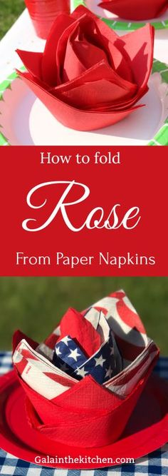 How to Fold Paper Napkin Fancy Way 6 Techniques Easy paper fold from napkins. We need just a glass and paper napkins with texture. The post How to Fold Paper Napkin Fancy Way 6 Techniques appeared first on Paper Diy. Napkin Folding Rose, Christmas Napkin Folding, Napkin Rose, Christmas Napkins, Folding Napkins, How To Fold Napkins, Paper Dinner Napkins, Party Napkins, Napkin Origami