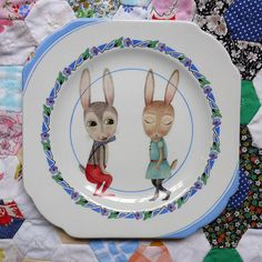 even more lovliness from The Story Book Rabbit