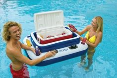 Intex Mega Chill II - the reviews for this floating cooler are great
