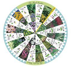 Shade Garden Wheel