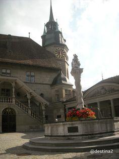 Friburgo.- Plaza del Ayuntamiento