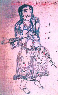 Virgo 'Book of Fixed Stars' (Kitāb suwar al-kawākib al-ṯābita) by 'Abd al-Rahman ibn 'Umar al-Ṣūfī, dated 1130-31AD (Topkapı Sarayı, Istanbul, manuscript Ahmet III 3493)