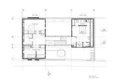 Kew House / Piercy&Company, Floor Plan-1