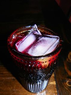 Iced Hibiscus Tea. Photo by Baby Kato