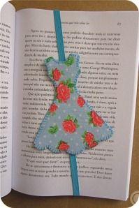 vestido marcador de paginas