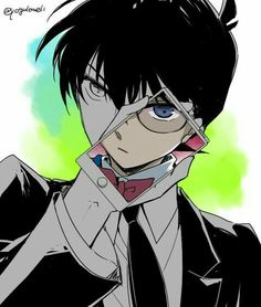 Conan Edogawa and Shinichi Kudo - Detective Conan (Case Closed). Magic Kaito, Conan Comics, Detektif Conan, Manga Anime, Anime Guys, Noragami, Detective Conan Shinichi, Kaito Kuroba, Detective Conan Wallpapers