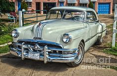 """""""1951 Pontiac Chieftain Side View"""" by Bob and Nancy Kendrick 1st place in Classic Cars Contest."""