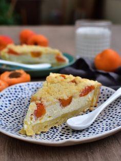Linecký koláč plný tvarohu se švestkami / meruňkami a drobenkou Cheesecake, Food And Drink, Pie, Cooking, Torte, Kitchen, Cake, Cheesecakes, Fruit Cakes