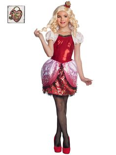 Girl's Ever After High Apple White Costume   Cheap TV and Movie Halloween for Girls