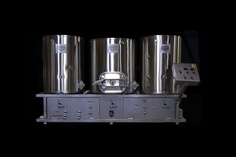Our brewing system at Riff Raff Brewing Company.