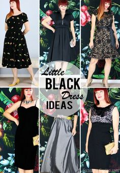 Little Black Dress Ideas For the holiday season