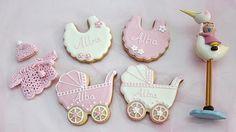 Atelier Sucrème: baby shower cookies
