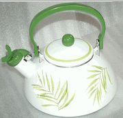 Whistling Tea Kettle Bamboo Leaf