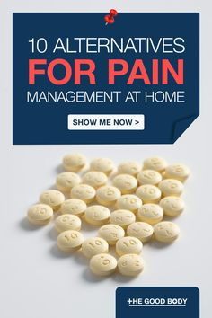 Living with pain is hard but there are lots of different ways to help, whether you're looking for a drug-free treatment or a therapy to complement your pain medication. We've compiled a list of 10 pain management alternatives for you to consider. Show Me Now, Natural Pain Relief, Chiropractic Care, Alternative Treatments, Drug Free, Pain Management, Medical Care, Massage Therapy, Chronic Pain