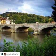 cittaditorino La prima foto di spadaforce per raccontare la sua Torino #inTO Ponte Umberto I