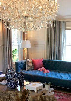 South Shore Decorating Blog: Family Room - Full Reveal