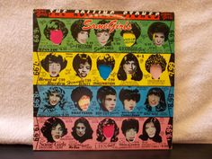 The Rolling Stones Some Girls. Vintage vinyl LP 33 by AbqArtistry, $16.00