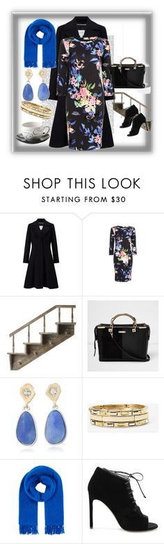 """Office style"" by rousou ❤ liked on Polyvore featuring John Lewis, River Island, Kenneth Cole, White House Black Market, Maje, Yves Saint Laurent and Price & Kensington"