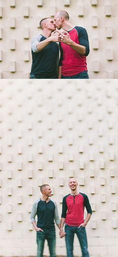 Patrick & Todd - same sex engagement photos | photos by Autumn Harrison