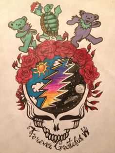 Grateful Dead. Would be a cool tattoo.