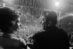 The Reagans at the 1976 Republican convention. - Teresa Zabala/The New York Times