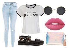 """""""Untitled #63"""" by onlyyc on Polyvore featuring New Look, Ally Fashion, J.Crew and Lime Crime"""