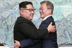 Les dirigeants des deux Corées se sont engagés vendredi à oeuvrer en faveur de la dénucléarisation en promettant qu'il n'y aurait plus de guerre sur la péninsule, lors...