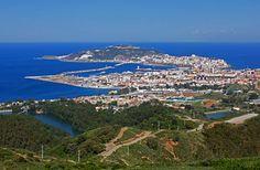 Ceuta desde el mirador de Isabel II